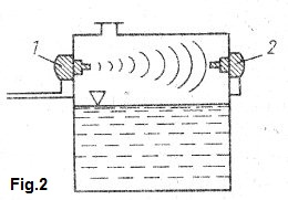 Design of ultrasonic level switch